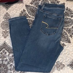 American Eagle Outfitters Hi-Rise Jeggings 14S